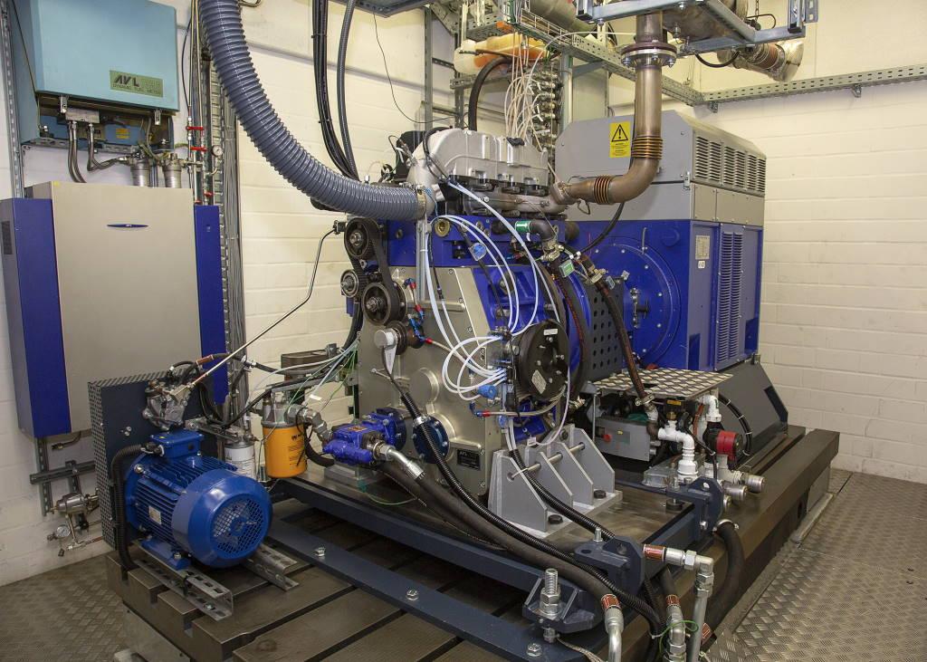 Ammoniak Forschungsmotor
